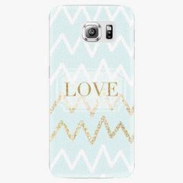 Plastový kryt iSaprio - GoldLove - Samsung Galaxy S6 Edge Plus