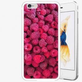 Plastový kryt iSaprio - Raspberry - iPhone 6/6S - Silver