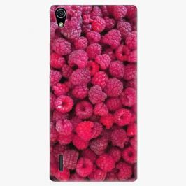 Plastový kryt iSaprio - Raspberry - Huawei Ascend P7