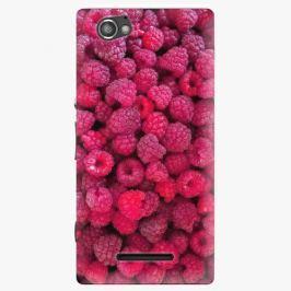 Plastový kryt iSaprio - Raspberry - Sony Xperia M