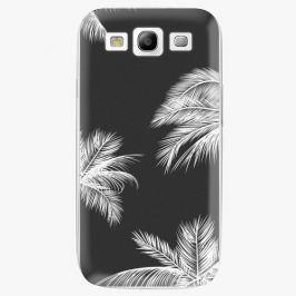 Plastový kryt iSaprio - White Palm - Samsung Galaxy S3