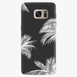 Plastový kryt iSaprio - White Palm - Samsung Galaxy S7 Edge