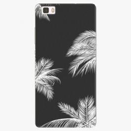 Plastový kryt iSaprio - White Palm - Huawei Ascend P8 Lite