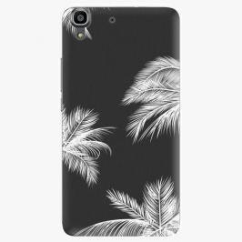 Plastový kryt iSaprio - White Palm - Huawei Ascend Y6