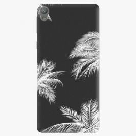 Plastový kryt iSaprio - White Palm - Sony Xperia E5
