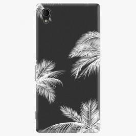 Plastový kryt iSaprio - White Palm - Sony Xperia M4