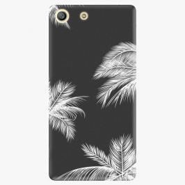 Plastový kryt iSaprio - White Palm - Sony Xperia M5