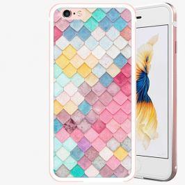 Plastový kryt iSaprio - Roof - iPhone 6 Plus/6S Plus - Rose Gold