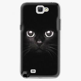 Plastový kryt iSaprio - Black Cat - Samsung Galaxy Note 2