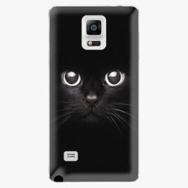 Plastový kryt iSaprio - Black Cat - Samsung Galaxy Note 4