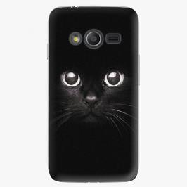 Plastový kryt iSaprio - Black Cat - Samsung Galaxy Trend 2 Lite