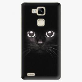 Plastový kryt iSaprio - Black Cat - Huawei Mate7