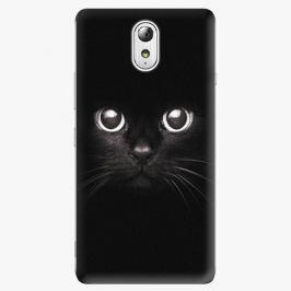 Plastový kryt iSaprio - Black Cat - Lenovo P1m