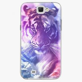Plastový kryt iSaprio - Purple Tiger - Samsung Galaxy Note 2