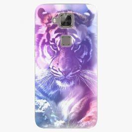 Plastový kryt iSaprio - Purple Tiger - Huawei Ascend G8