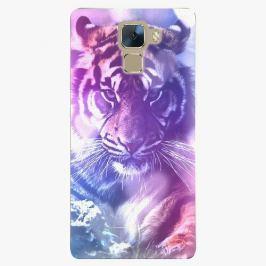 Plastový kryt iSaprio - Purple Tiger - Huawei Honor 7