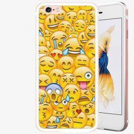 Plastový kryt iSaprio - Emoji - iPhone 6/6S - Rose Gold