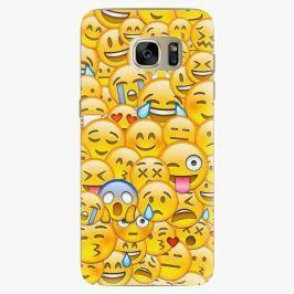 Plastový kryt iSaprio - Emoji - Samsung Galaxy S7 Edge Pouzdra, kryty a obaly na mobil Samsung Galaxy S7 Edge