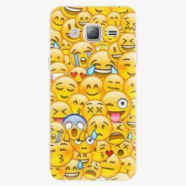 Plastový kryt iSaprio - Emoji - Samsung Galaxy J3 2016