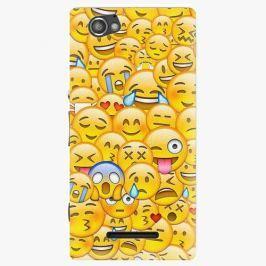 Plastový kryt iSaprio - Emoji - Sony Xperia M