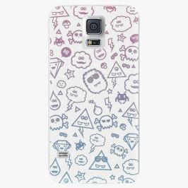 Plastový kryt iSaprio - Funny Clouds - Samsung Galaxy S5