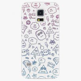 Plastový kryt iSaprio - Funny Clouds - Samsung Galaxy S5 Mini