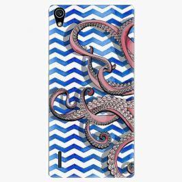 Plastový kryt iSaprio - Octopus - Huawei Ascend P7