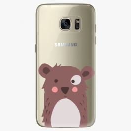Plastový kryt iSaprio - Brown Bear - Samsung Galaxy S7 Edge