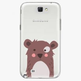 Plastový kryt iSaprio - Brown Bear - Samsung Galaxy Note 2
