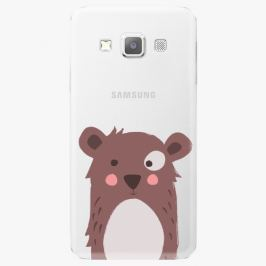 Plastový kryt iSaprio - Brown Bear - Samsung Galaxy A3