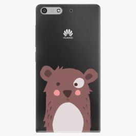 Plastový kryt iSaprio - Brown Bear - Huawei Ascend P7 Mini