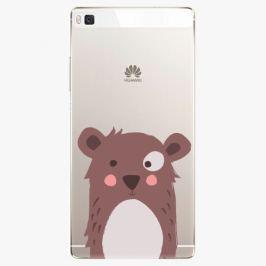 Plastový kryt iSaprio - Brown Bear - Huawei Ascend P8