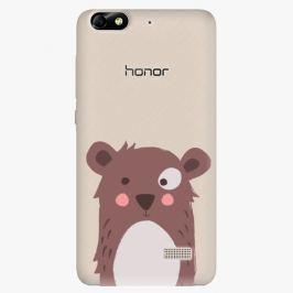 Plastový kryt iSaprio - Brown Bear - Huawei Honor 4C