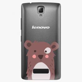 Plastový kryt iSaprio - Brown Bear - Lenovo A2010