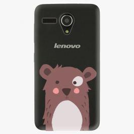 Plastový kryt iSaprio - Brown Bear - Lenovo A606