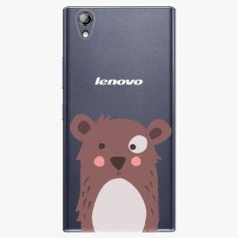 Plastový kryt iSaprio - Brown Bear - Lenovo P70