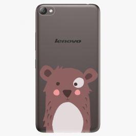 Plastový kryt iSaprio - Brown Bear - Lenovo S60