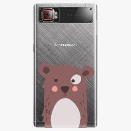 Plastový kryt iSaprio - Brown Bear - Lenovo Z2 Pro