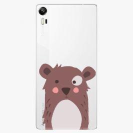 Plastový kryt iSaprio - Brown Bear - Lenovo Vibe Shot