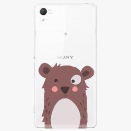 Plastový kryt iSaprio - Brown Bear - Sony Xperia Z2