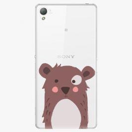 Plastový kryt iSaprio - Brown Bear - Sony Xperia Z3