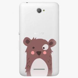 Plastový kryt iSaprio - Brown Bear - Sony Xperia E4