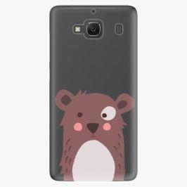 Plastový kryt iSaprio - Brown Bear - Xiaomi Redmi 2