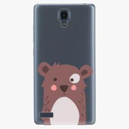 Plastový kryt iSaprio - Brown Bear - Xiaomi Redmi Note