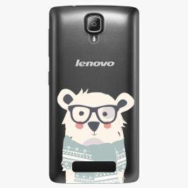 Plastový kryt iSaprio - Bear With Scarf - Lenovo A1000