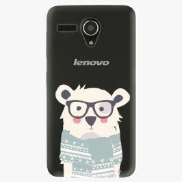 Plastový kryt iSaprio - Bear With Scarf - Lenovo A606