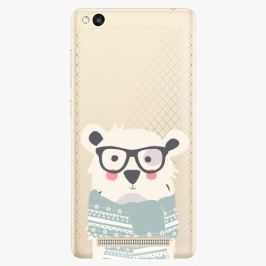 Plastový kryt iSaprio - Bear With Scarf - Xiaomi Redmi 3
