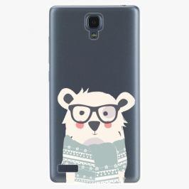 Plastový kryt iSaprio - Bear With Scarf - Xiaomi Redmi Note