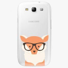 Plastový kryt iSaprio - Orange Fox - Samsung Galaxy S3