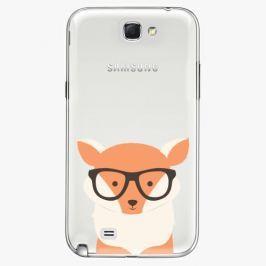 Plastový kryt iSaprio - Orange Fox - Samsung Galaxy Note 2